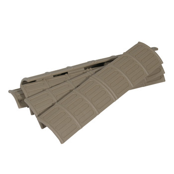Tapco, Inc. Stock, Fits Picatinny, Desert Tan Finish, 5 Pack 16677, UPC :751348006284