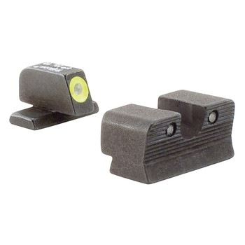 Trijicon HD Night Sight Set, 3 Dot Green Tritium With Yellow Front Outline, Fits SIG P225/226/228/239 SG101Y, UPC :719307209664
