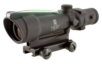 Trijicon ACOG, 3.5x35, Dual Illuminated, Green Horseshoe .223 Ballistic Reticle, With TA51 Mount TA11H-G, UPC :719307303454