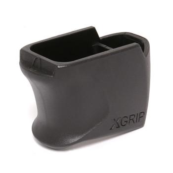 X-GRIP Magazine Spacer, Fits Glock 26/27, +7 Rounds Black GL26-27, UPC :753182070094