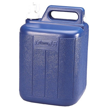 Coleman 5 Gallon Water Carrier Blue 5620B718G, UPC : 076501302424