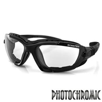 Bobster Renegade Conv Sunglass Blk Frame PhotoC Lens, UPC :642608039114