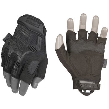 Mechanix M-Pact Fingerless Tactical Gloves Covert Black Med, UPC :781513631034