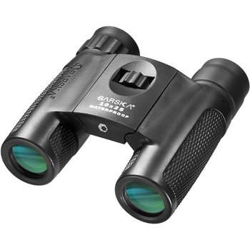 Barska 10x25 WP Blackhawk Compact Green Lens Binoculars, UPC :790272983674
