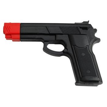 Master Cutlery Rubber Training Gun Black with Orange Tip, UPC :805319218944