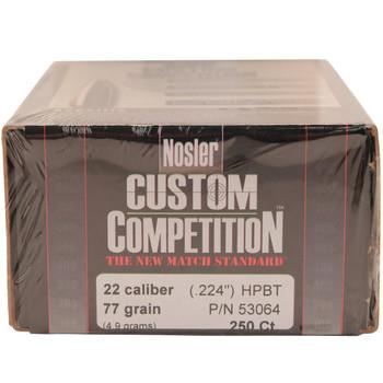 22 Cal 77gr CustCmp HPBT (250 ct), UPC : 054041530644
