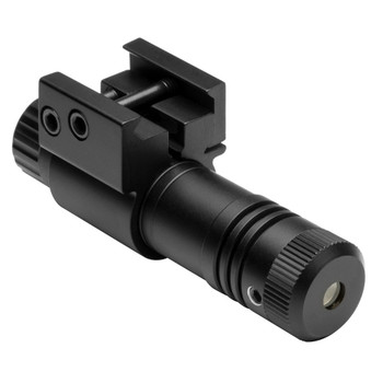 NcStar 5mw Tactical Compact Green Laser Sight with Integral Weaver-Style Mount Black, UPC :814108018504
