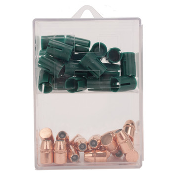 Hornady XTP Bullets 50 Caliber Sabot with 44 Caliber 240 Grain Jacketed Hollow Point Box of 20, UPC : 090255267204