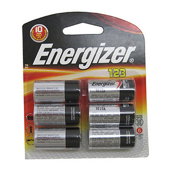 123 Lithium 6 Pack, UPC : 039800100634