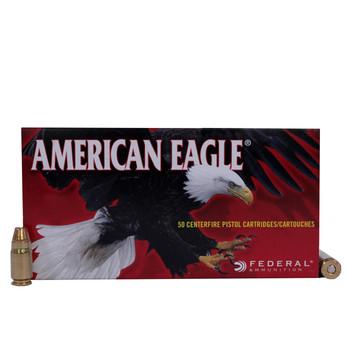 AMER EAGLE 357 SIG 125GR FMJ 50RD/BX, UPC : 029465089924