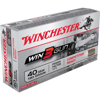 WIN3GUN 40 SW 180GR THREE-GUN 50/BXs, UPC : 020892220614