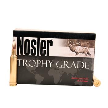 Nosler Trophy Grade Ammunition 270 Weatherby Magnum 150 Grain AccuBond Long Range Box of 20, UPC : 054041601504