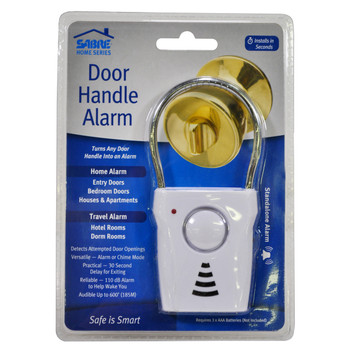 Door Handle Alarm, UPC : 023063811444
