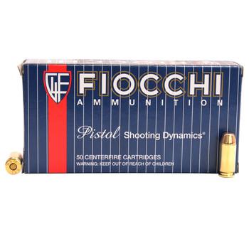 Fiocchi Shooting Dynamics Ammunition 40 S&W 170 Grain Full Metal Jacket Truncated Cone Box of 50, UPC :762344001074