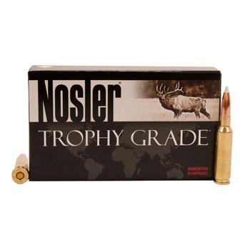 Nosler Trophy Grade Ammunition 6.5 Creedmoor 140 Grain Accubond Box of 20, UPC : 054041600804