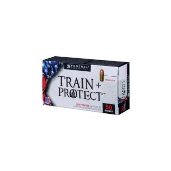 Federal Train + Protect Ammunition 40 S&W 180 Grain Versatile Hollow Point Box of 100, UPC :604544627404