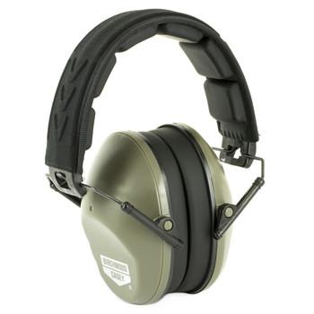 Birchwood Casey Krest Passive Ear Muffs, Low Profile, Earmuff, Gray, 1 Pair 43210, UPC : 029057432107