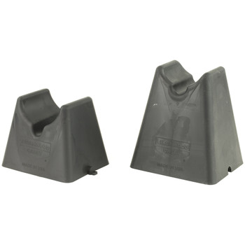 Birchwood Casey Nest Rest 2pc Shooting Rest, Rubber, Black, 1 Set 48202, UPC : 029057482027