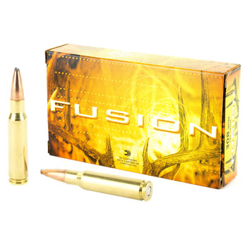 Federal Fusion, 308WIN, 180 Grain, Boat Tail, 20 Round Box F308FS3, UPC : 029465097967