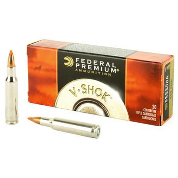 Federal Premium, 222REM, 40 Grain, Nosler Ballistic Tip, 20 Round Box P222C, UPC : 029465096557