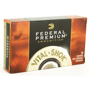 Federal Vital-Shok, 30-06, 180 Grain, Triple Shock X, 20 Round Box P3006D, UPC : 029465084677