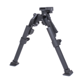 GG&G, Inc. Heavy DutyBipod, Black, Fits Picatinny GGG-1245, UPC :813157001017