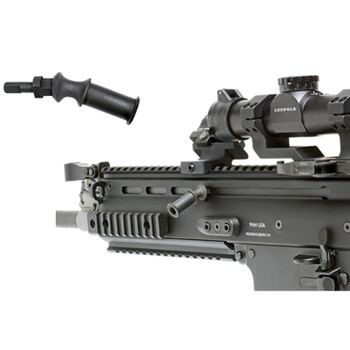 GG&G, Inc. Angled Charging Handle for FNH SCAR Rifles, Allows Handle Angled Up or Down to Clear Optics or Accessories, Black GGG-1533, UPC :813157004087