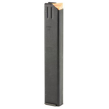 Ammunition Storage Components Magazine, 9MM, Fits AR Rifles, 32Rd, Stainless, Black 9mm-32RD-SS, UPC :818805010557
