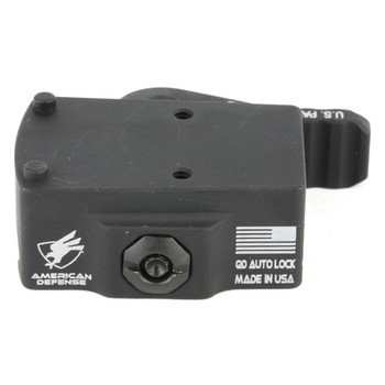 American Defense Mfg. Mount, Fits Trijicon RMR, Right Hand Lever, Quick Release, Black AD-RMR-RH STD, UPC :818503012167