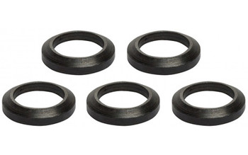 """Advanced Technology AR-15 Crush Waser 5 Pack, Fits Over 1/2""""-28 Threads, Black Oxide Finish A.5.10.2253, UPC :758152428837"""
