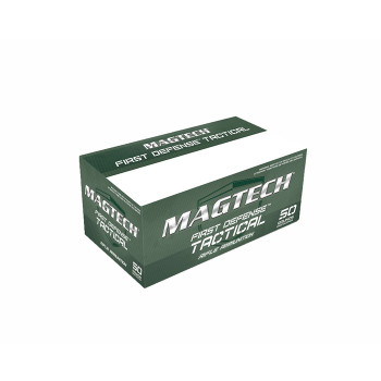 Magtech First Defense Tactical, 556NATO, 55 Grain, Full Metal Jacket, 50 Round Box 556B, UPC :754908201617