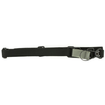 Blue Force Gear Sling, Fits AK, Standard, Molded Acetal Adjuster, Black Finish K-SP-0046-BK, UPC :812114022447