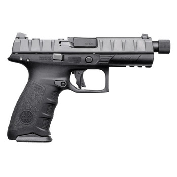 "Beretta APX, Combat, Semi-automatic, Striker Fired, Full Size Pistol, 9mm, 4.25"" Barrel, Polymer Frame, Black Finish, 17Rd, 2 Mags, 3 Dot Sights BRJAXF921701, UPC : 082442894577"