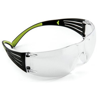 3M/Peltor SecureFit 400, Anti-fog Glasses, Lightweight, Clear, SafetyEyewear SF400-PC-8, UPC : 051141994987