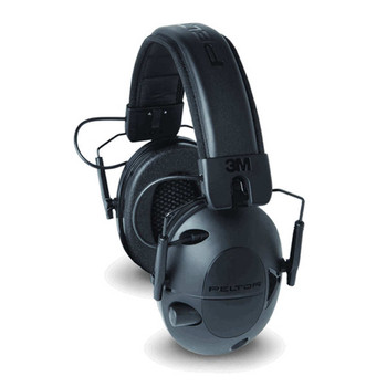 3M/Peltor Tactical Sport Electronic Earmuff, Foam, Black, NRR 22 TAC100-OTH, UPC : 051141394237