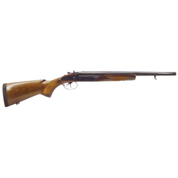 """Century Arms Coach Gun, Side by Side, 20 Gauge, 3"""" Chamber, 20"""" Barrel, Blue Finish, Wood Stock SG1077N, UPC :787450007147"""