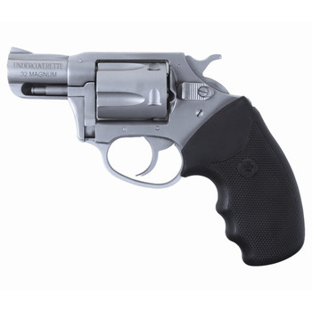 """Charter Arms Undercover, 32 H&R, 2"""" Barrel, Steel Frame, Stainless Finish, Rubber Grips, 5Rd, Fired Case 73220, UPC :678958732207"""