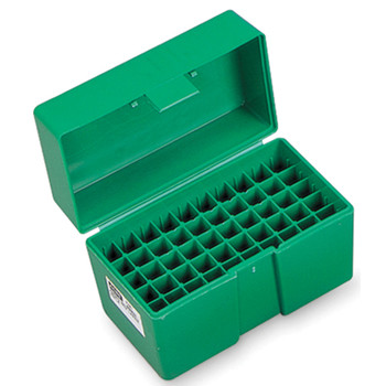RCBS Large Pistol Ammo Box, For 45ACP, 44 Special, Green 86906, UPC : 076683869067