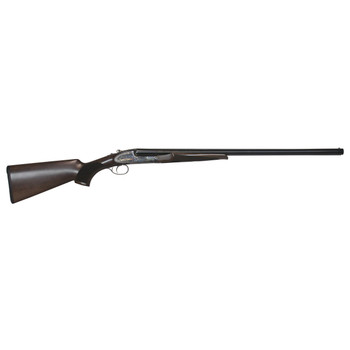 "CZ Sharp-Tail, Side By Side, 12 Gauge, 3"" Chamber, 28"" Barrel, Black Finish, Walnut Stock, Bead Sight, 2 Rounds 06401, UPC :806703064017"