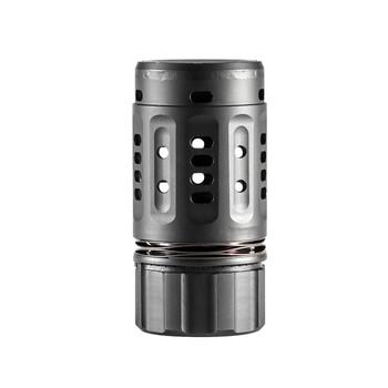 Dead Air Armament Pyro Enhanced Muzzle Brake, Fits Dead Air Key Brake or Flash Hider, Black Finish DA202, UPC : 043125910137