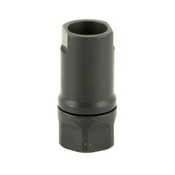 Dead Air Armament Thread Adapter, 1/2 x 28 RH, Fits GSG 1911, Black Finish DA421, UPC : 043125910427