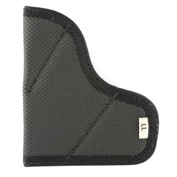 Desantis Mag-Packer Magazine Pouch, Fits Single Stack 45 Caliber, Ambidextrous, Black Leather M38BJLLZ0, UPC :792695264507