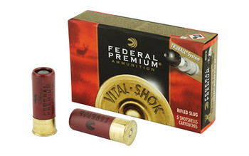 "Federal Premium, 12 Gauge, 2.75"", 1oz, TruBall, 5 Round Box PB127RS, UPC : 029465025267"