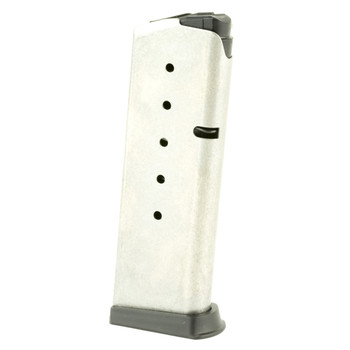 Kahr Arms Magazine, 45ACP, 6Rd, Fits PM45, Stainless Finish K625, UPC :602686108027