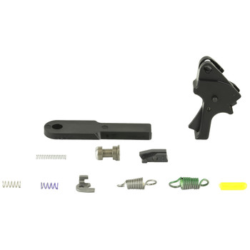 Apex Tactical Specialties Flat-Faced Forward Set Sear & Trigger Kit For M&P M2.0, Kit Includes - Flat-Faced Forward Set Trigger, Forward Set Sear Actuator, 2-Dot Fully Machined Sear, Heavy Duty Sear Spring, Duty/Carry Sear Spring, Trigger Return Spri