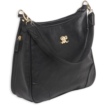 Bulldog Cases Hobo Style Purse, Includes Universal Fit Holster, Black Leather Finish BDP-010, UPC :672352009347