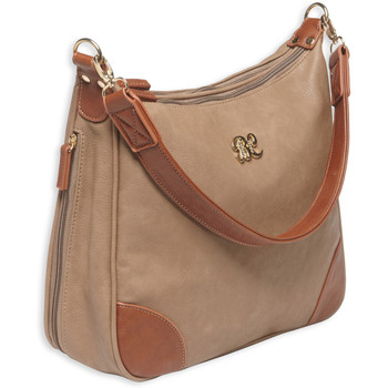 Bulldog Cases Hobo Style Purse, Leather, Universal Fit Holster Included, Taupe Finish BDP-014, UPC :672352009477