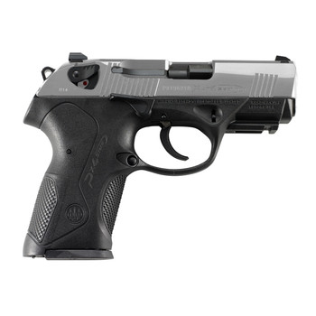 """Beretta PX4 Storm, Semi-automatic, Double Action, Compact Pistol, 40SW, 4"""" Barrel, Polymer Frame, INOX Finish, 12Rd, 2 Mags, Picatinny Rail, 3 Dot Sights JXC4F51, UPC : 082442777047"""