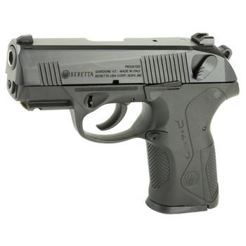 "Beretta PX4 Storm, Semi-automatic, Double Action, Compact Pistol, 9MM, 3.2"" Barrel, Polymer Frame, Black Finish, 10Rd, 2 Mags, Picatinny Rail, Ambidextrous, 3 Dot Sights JXC9F20, UPC : 082442153667"