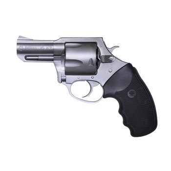 """Charter Arms Pitbull, Revolver, 45 ACP, 2.5"""" Barrel, Aluminum Frame, Stainless Finish, Rubber Grips, Fixed Sights, 5Rd, Fired Case 74520, UPC :678958745207"""